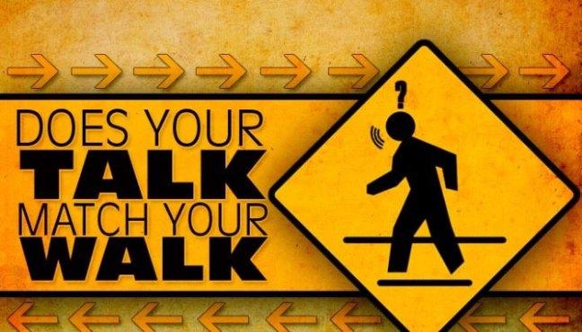 talk walk